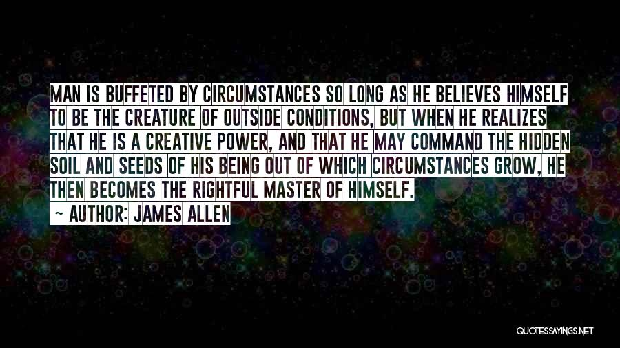 As Long Quotes By James Allen