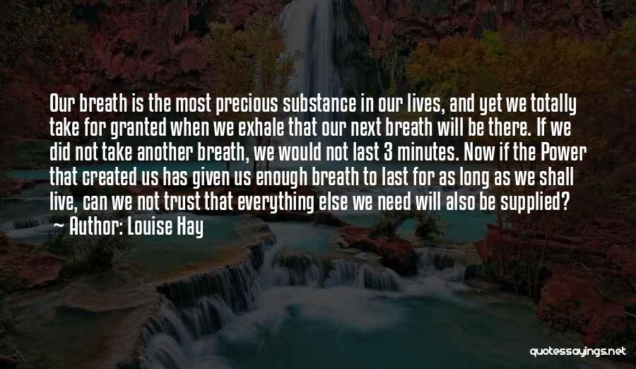 As Long Quotes By Louise Hay