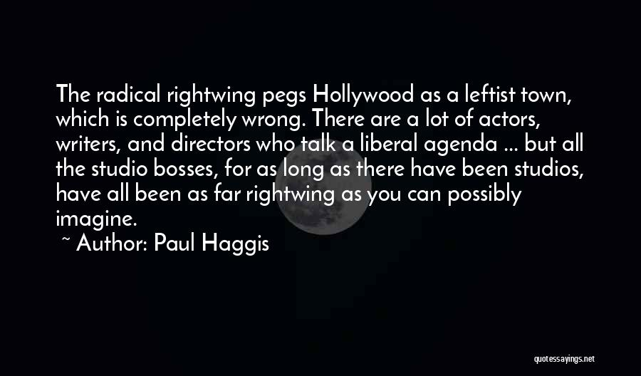 As Long Quotes By Paul Haggis