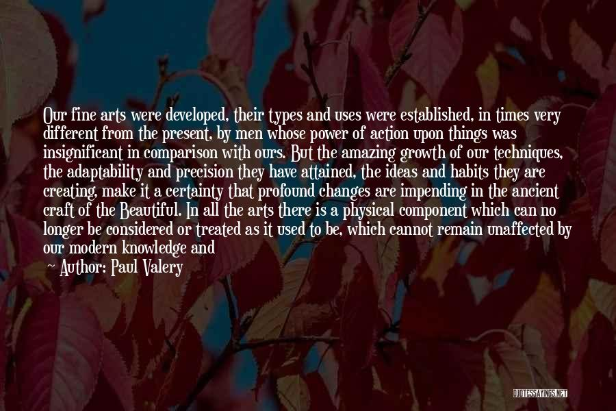 As Time Changes Quotes By Paul Valery