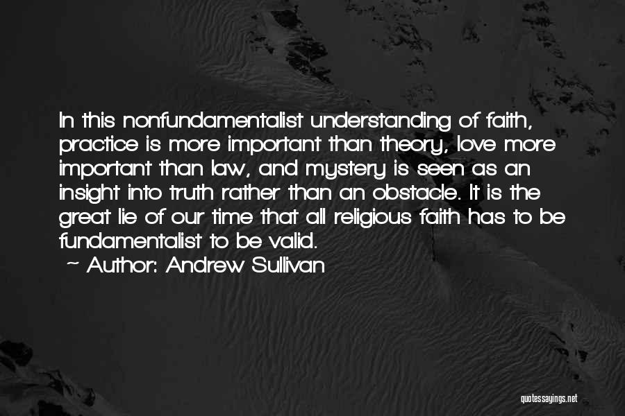 As Time Quotes By Andrew Sullivan