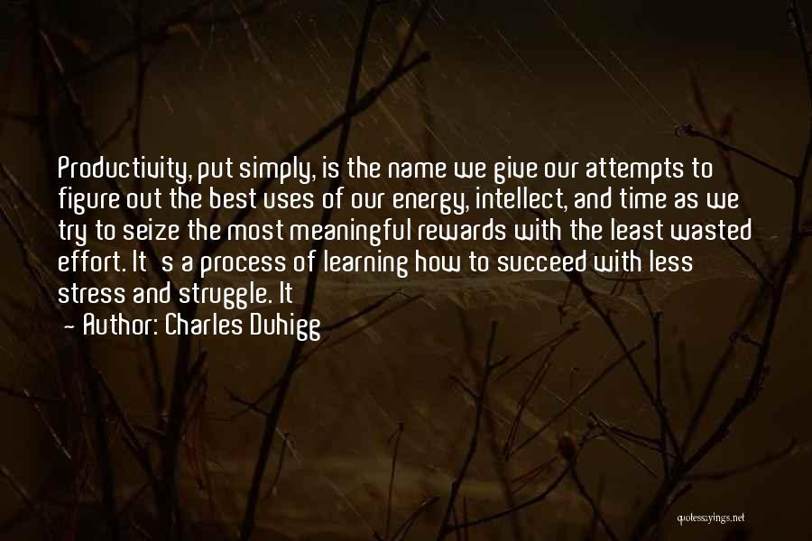 As Time Quotes By Charles Duhigg
