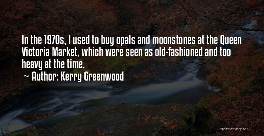 As Time Quotes By Kerry Greenwood