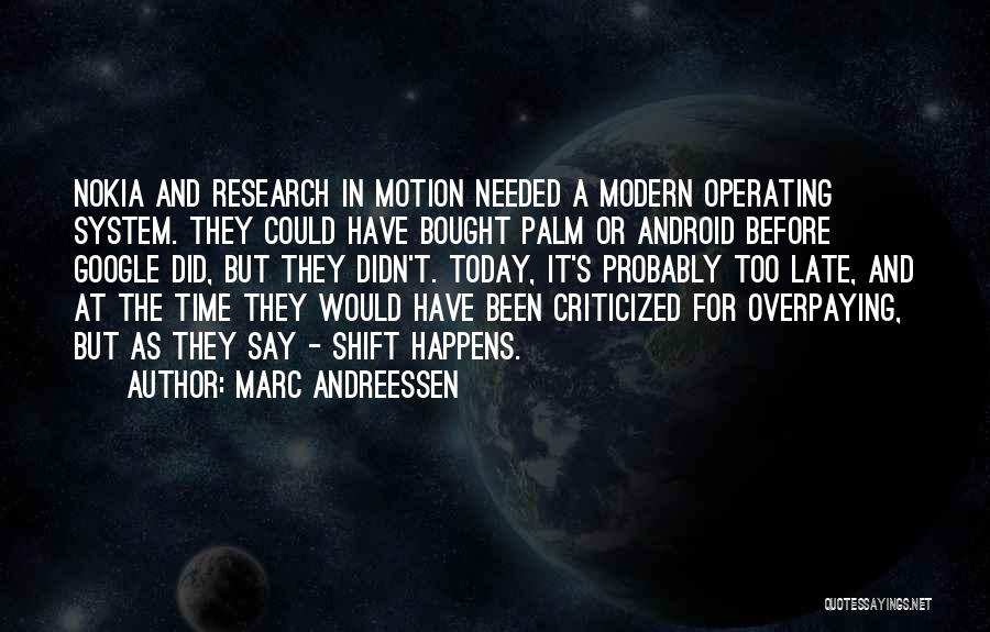As Time Quotes By Marc Andreessen