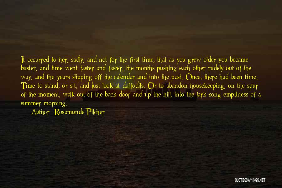 As Time Quotes By Rosamunde Pilcher