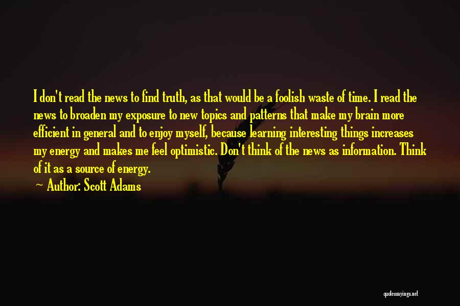 As Time Quotes By Scott Adams