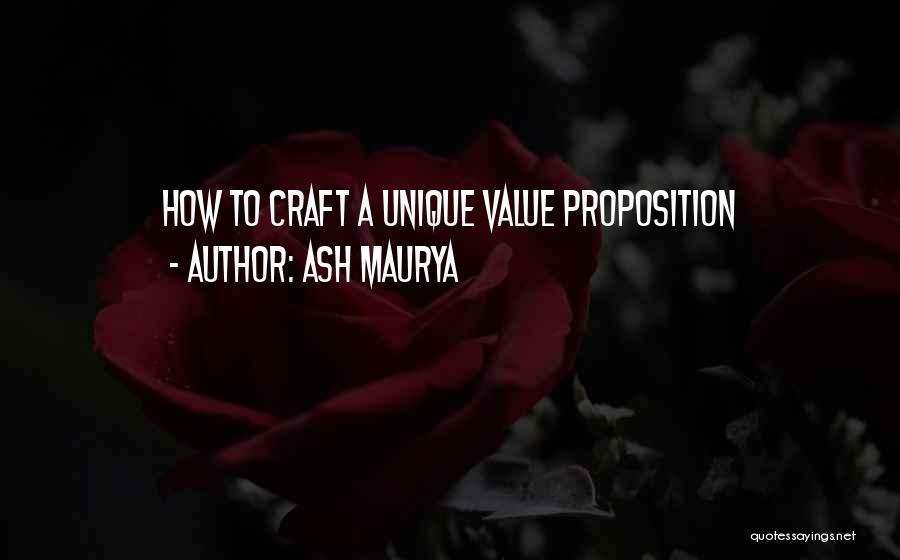 Ash Maurya Quotes 1648037