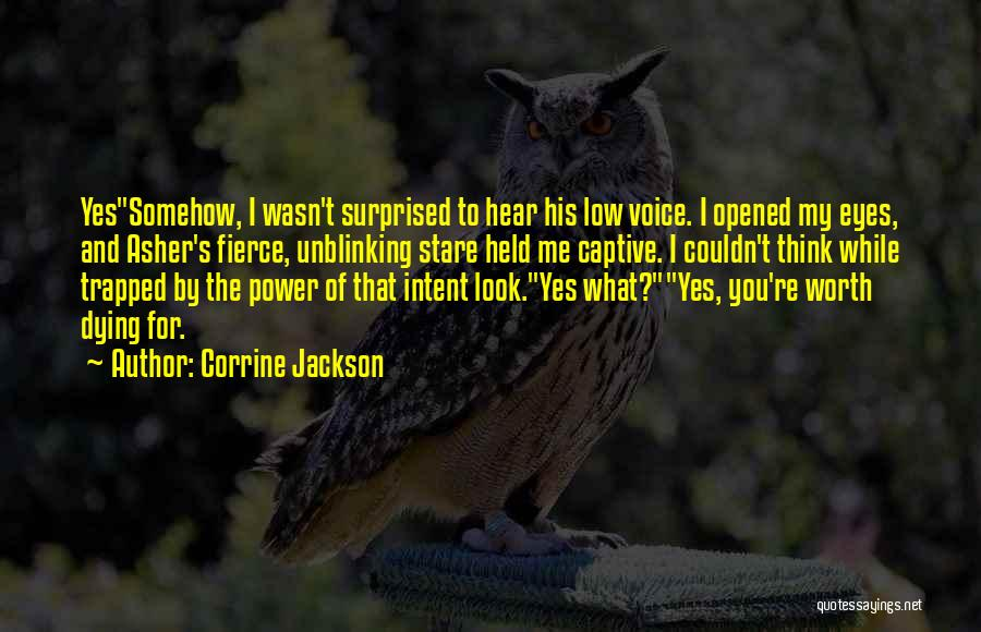 Asher Quotes By Corrine Jackson