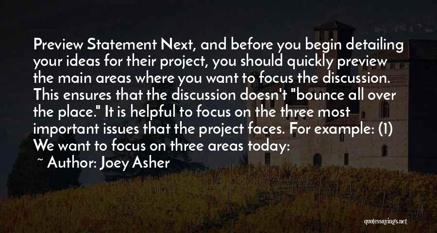 Asher Quotes By Joey Asher