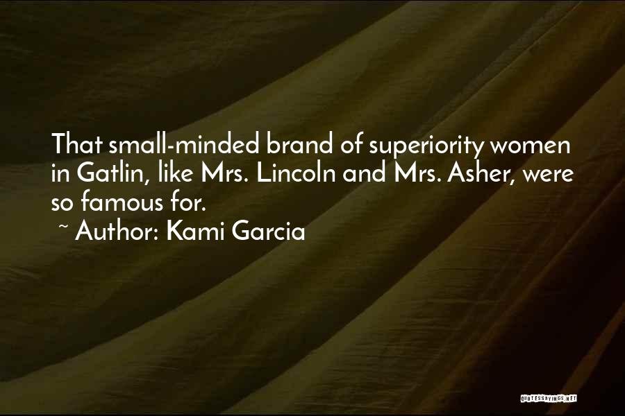 Asher Quotes By Kami Garcia