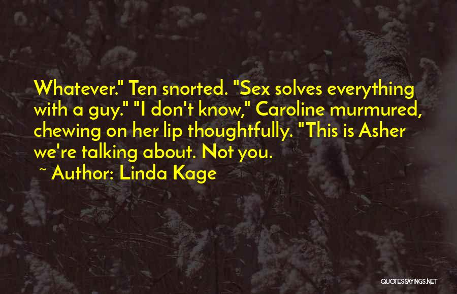 Asher Quotes By Linda Kage