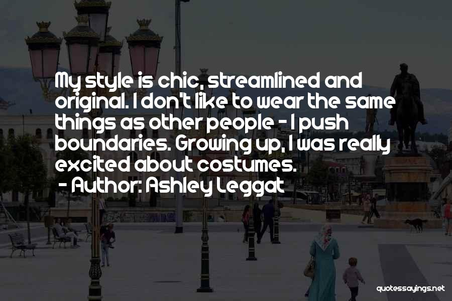 Ashley Leggat Quotes 830964