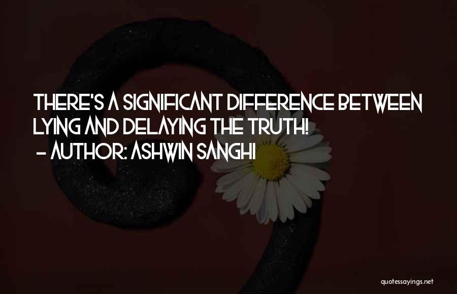 Ashwin Sanghi Quotes 2182398