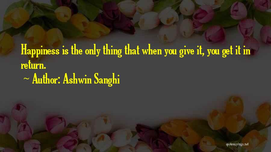 Ashwin Sanghi Quotes 280067
