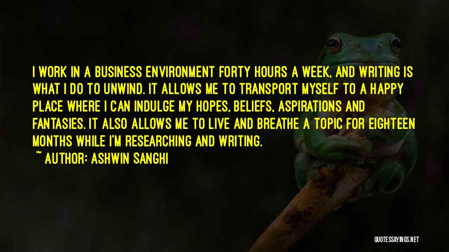 Ashwin Sanghi Quotes 503755