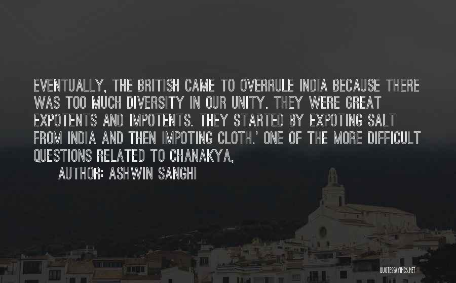 Ashwin Sanghi Quotes 712566