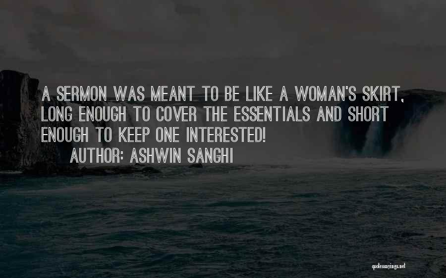 Ashwin Sanghi Quotes 904274