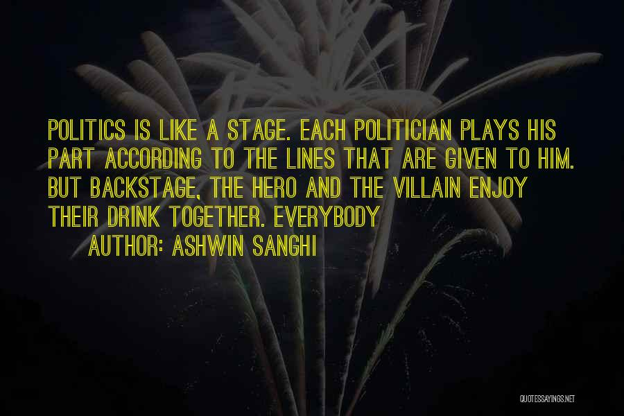 Ashwin Sanghi Quotes 91875