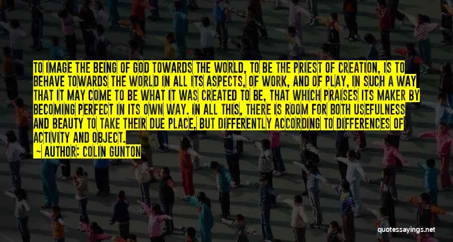 Aspects Quotes By Colin Gunton