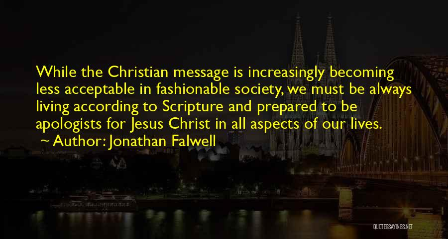 Aspects Quotes By Jonathan Falwell