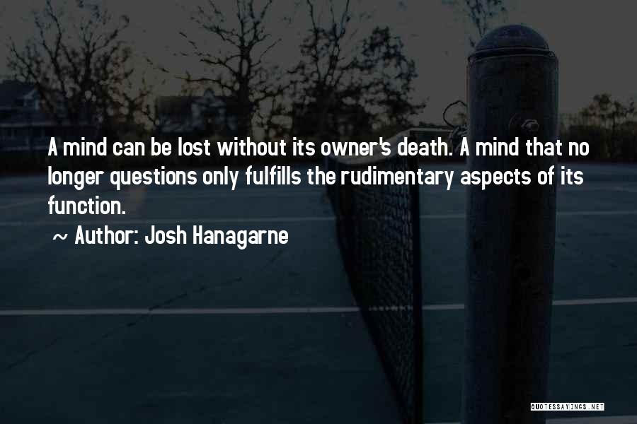Aspects Quotes By Josh Hanagarne