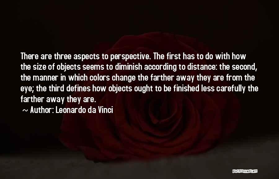 Aspects Quotes By Leonardo Da Vinci