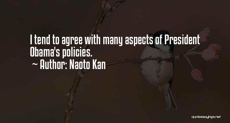 Aspects Quotes By Naoto Kan