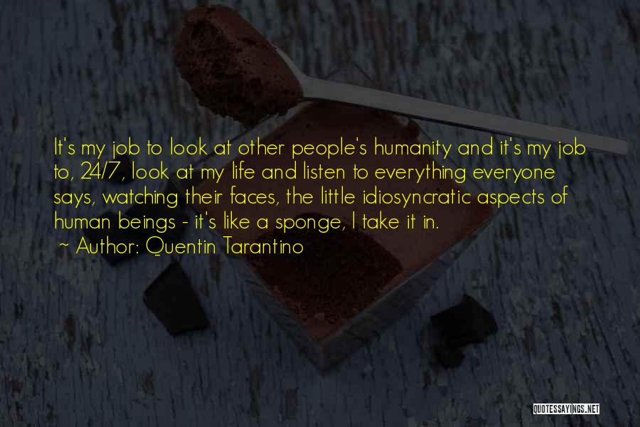 Aspects Quotes By Quentin Tarantino