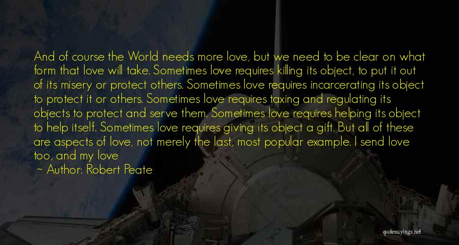 Aspects Quotes By Robert Peate