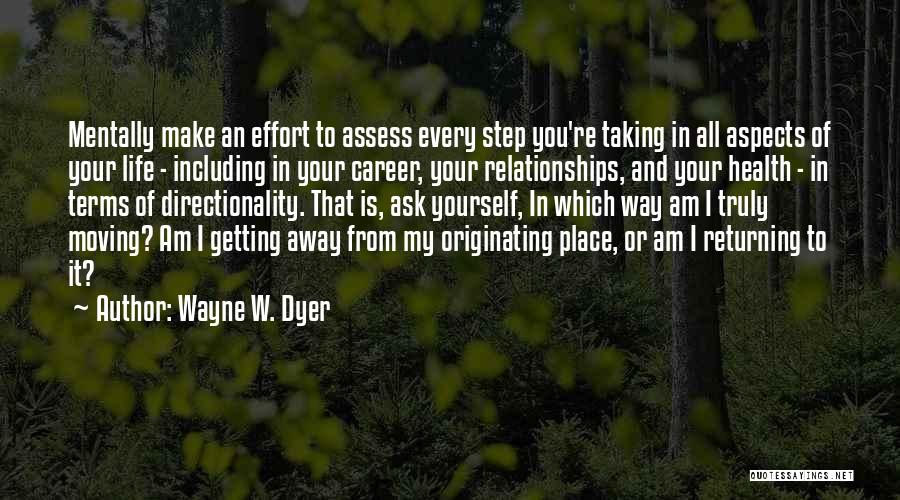 Aspects Quotes By Wayne W. Dyer