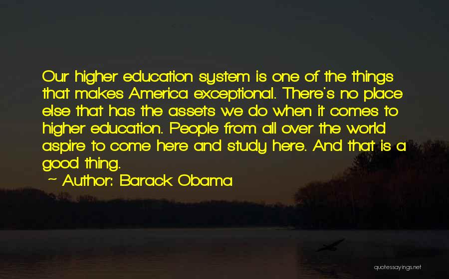Aspire Higher Quotes By Barack Obama