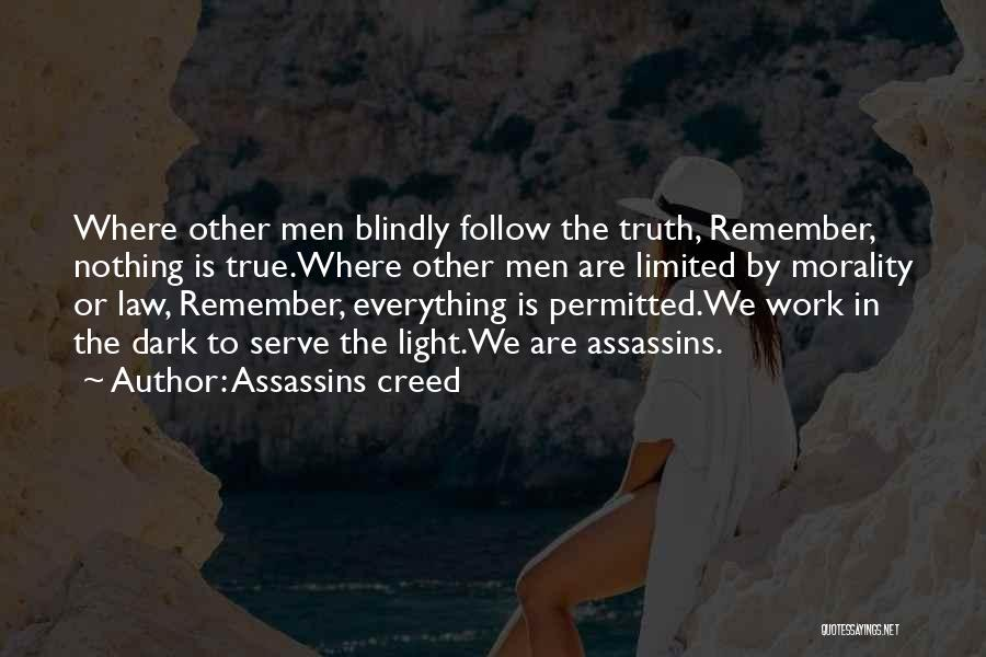 Assassins Creed Famous Quotes Sayings