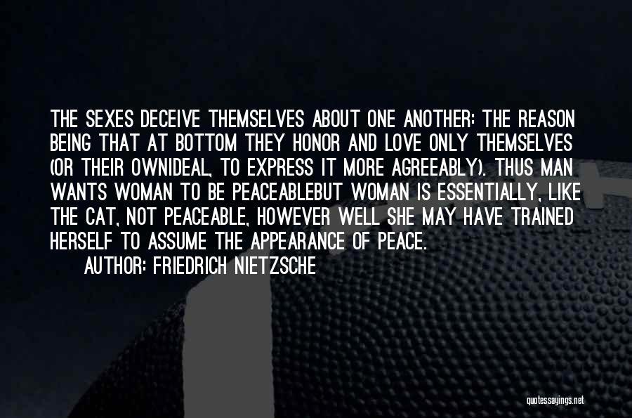 Assume Love Quotes By Friedrich Nietzsche