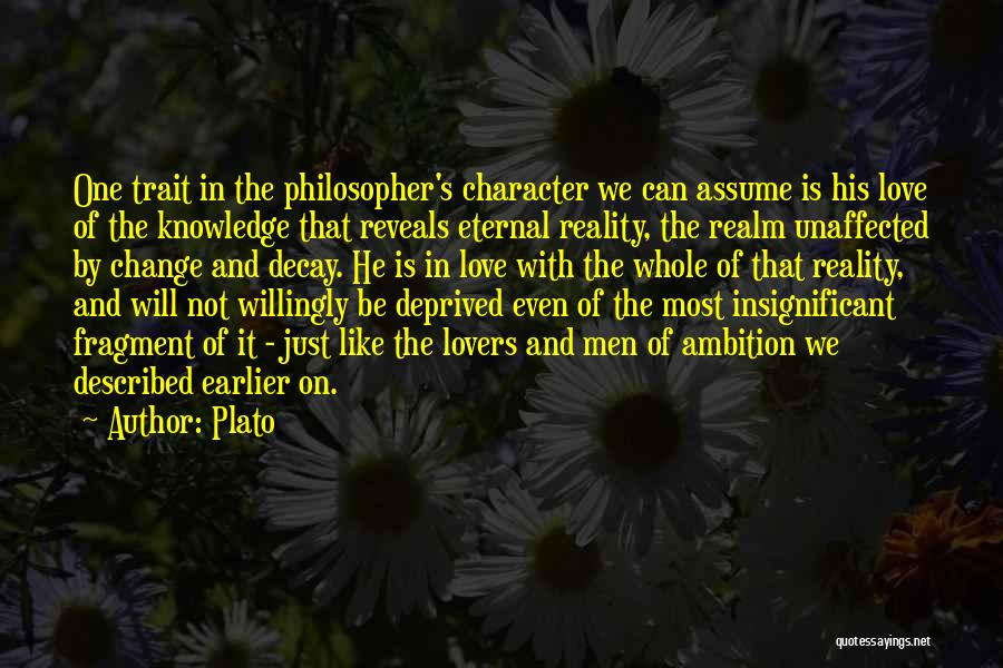 Assume Love Quotes By Plato