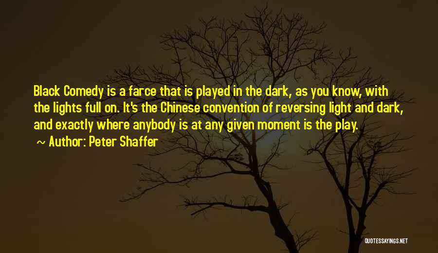 At Any Given Moment Quotes By Peter Shaffer