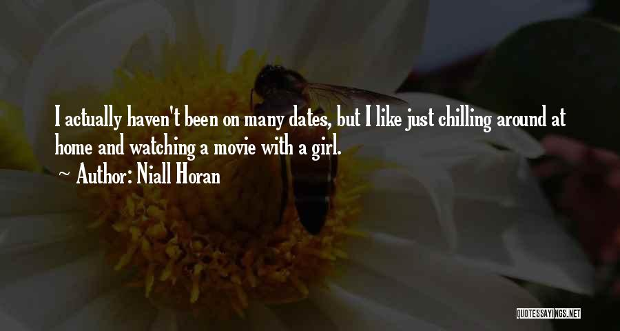 At Home Chilling Quotes By Niall Horan