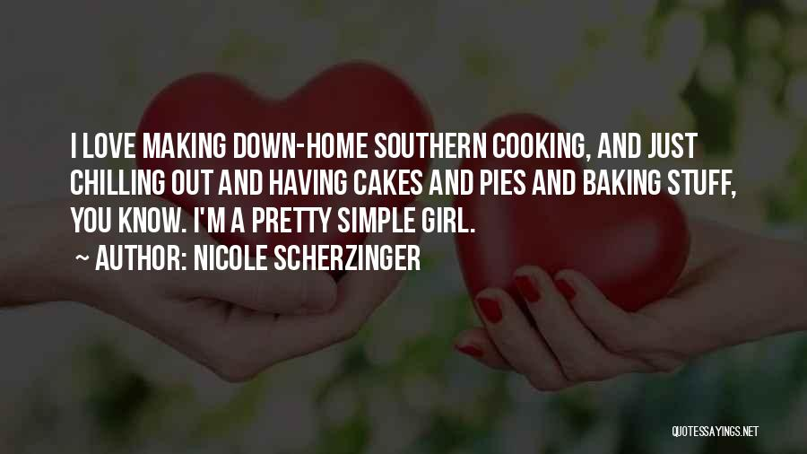 At Home Chilling Quotes By Nicole Scherzinger