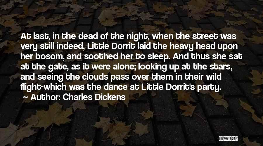 At Last Alone Quotes By Charles Dickens