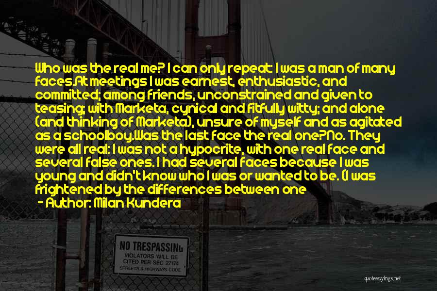 At Last Alone Quotes By Milan Kundera
