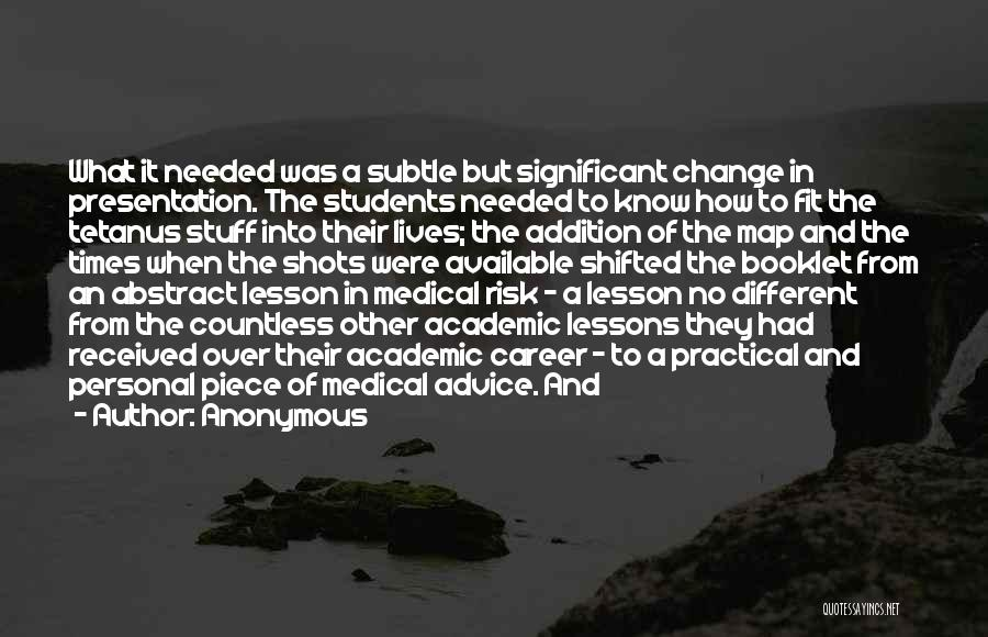 At Risk Students Quotes By Anonymous