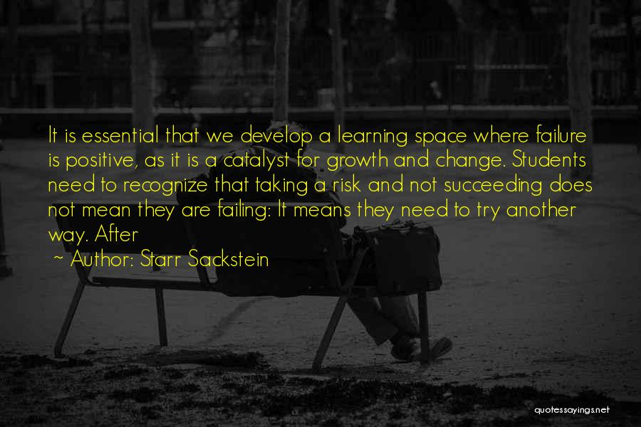 At Risk Students Quotes By Starr Sackstein