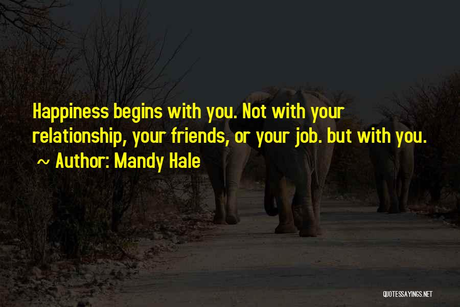 Attitude Friends Quotes By Mandy Hale
