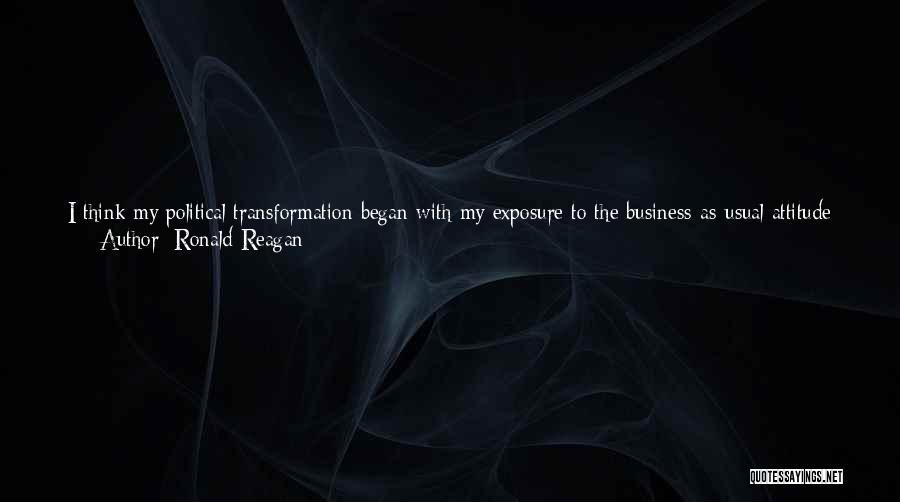 Attitude Friends Quotes By Ronald Reagan