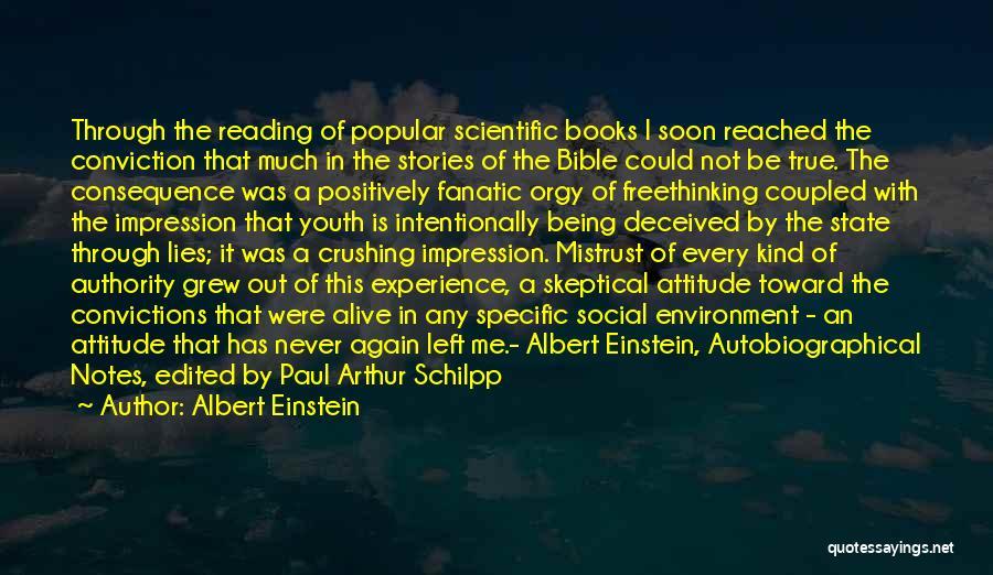 Attitude In The Bible Quotes By Albert Einstein