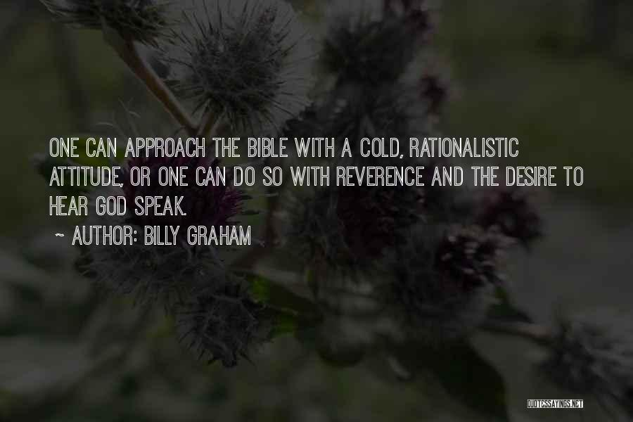 Attitude In The Bible Quotes By Billy Graham
