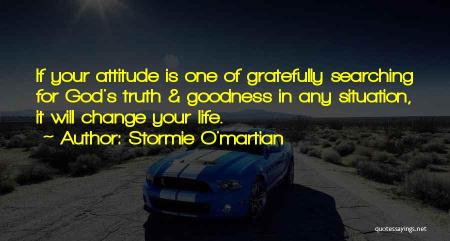 Attitude In The Bible Quotes By Stormie O'martian