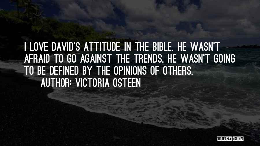 Attitude In The Bible Quotes By Victoria Osteen