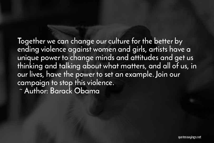 Attitude Is All That Matters Quotes By Barack Obama