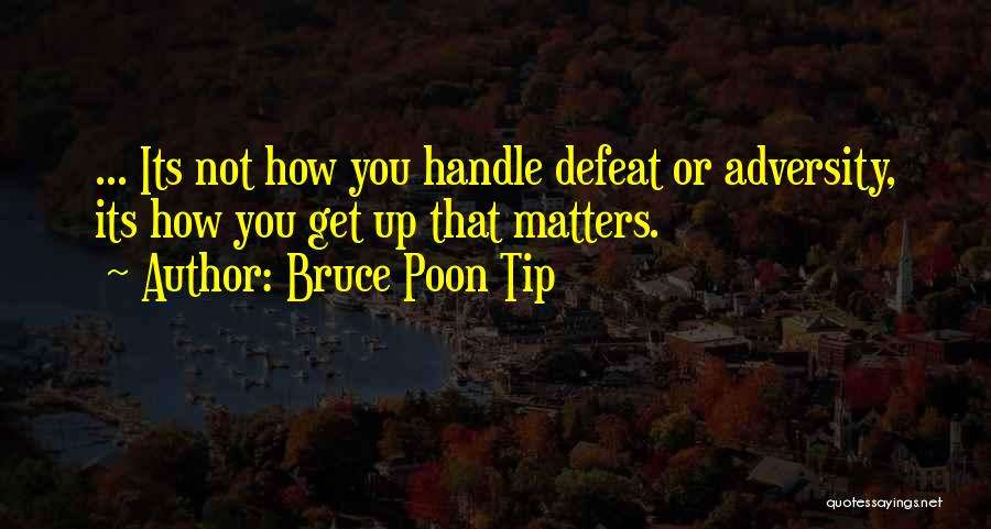 Attitude Is All That Matters Quotes By Bruce Poon Tip
