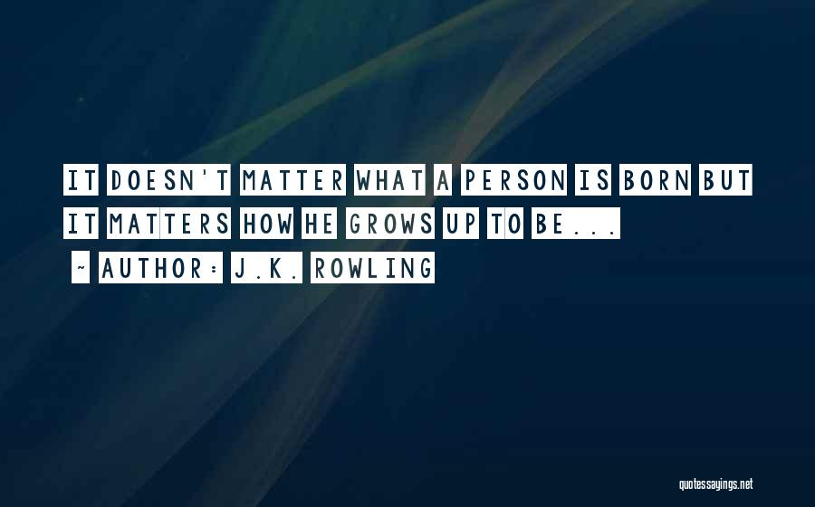 Attitude Is All That Matters Quotes By J.K. Rowling